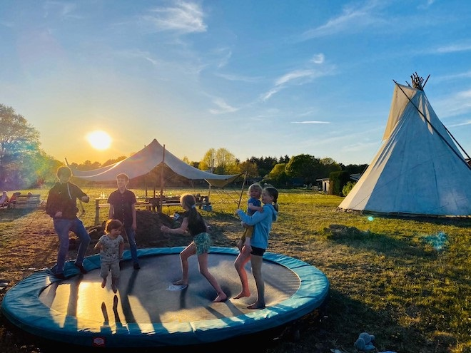 3x fantastische Pop-Up campings
